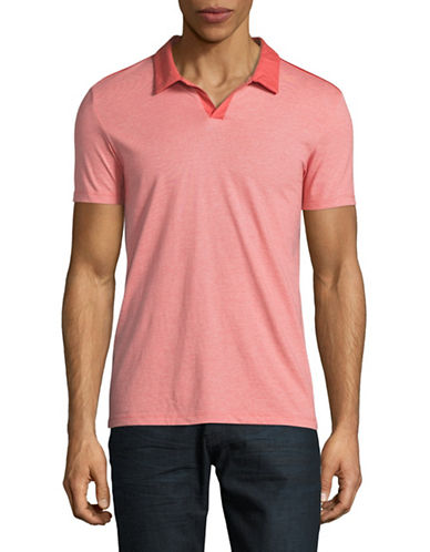 Calvin Klein Slim Fit Jersey Polo-RED-Small