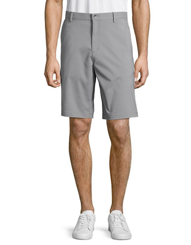 Calvin Klein Performance Stretch Shorts-GREY-30 89176157_GREY_30