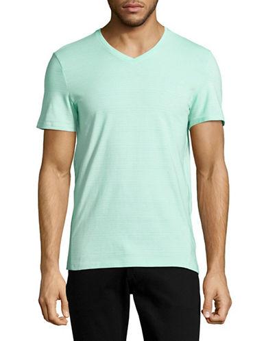 Calvin Klein Slim Fit V-Neck T-Shirt-GREEN-Medium 89003072_GREEN_Medium