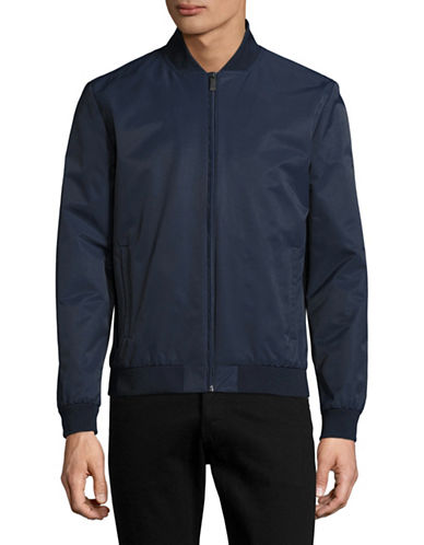 Calvin Klein Bomber Jacket-BLUE-XX-Large 89000332_BLUE_XX-Large