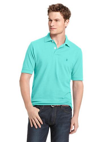 Calvin Klein Plaid Short-Sleeve Shirt-LIGHT BLUE-X-Large