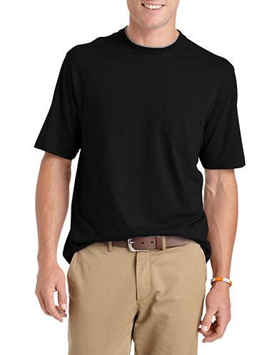 Izod Pocket T-Shirt-BLACK-X-Large 88267845_BLACK_X-Large