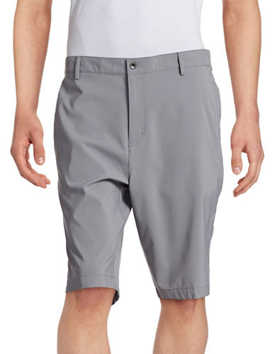 Calvin Klein Performance Stretch Shorts-DAWN GREY-40 88249259_DAWN GREY_40