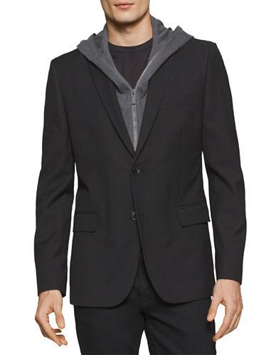 Calvin Klein Sport Jacket Hoodie-BLACK-X-Large 88517593_BLACK_X-Large