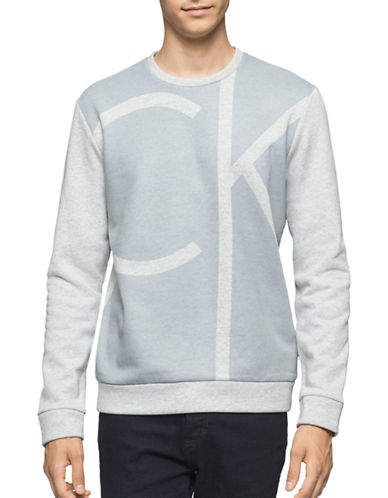 Calvin Klein Colour-Block Sweater-GREY-X-Large 88885731_GREY_X-Large