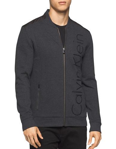 Calvin Klein Logo Printed Jacket-GREY-Large 88885738_GREY_Large