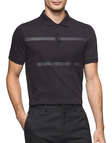 Calvin Klein Multi-Dimensional Polo-BLACK-X-Large 88914256_BLACK_X-Large