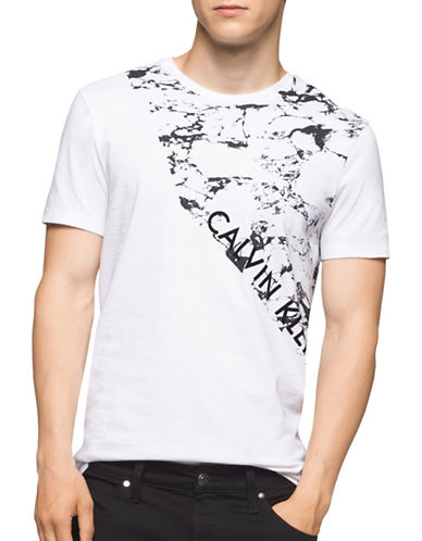 Calvin Klein Negative and Positive T-Shirt-WHITE-Medium 88886576_WHITE_Medium