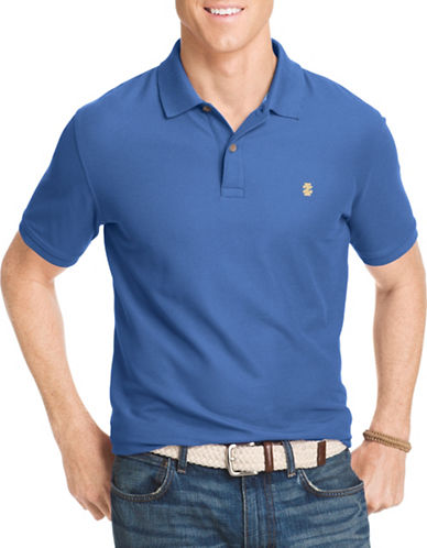 Izod Slim-Fit Advantage Polo-DARK BLUE-Large