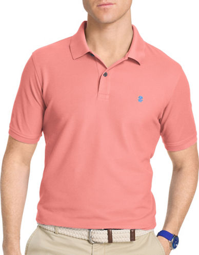 Izod Slim-Fit Advantage Polo-PINK-XX-Large