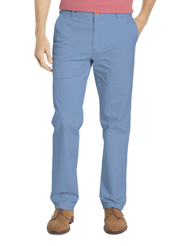 Izod Slim Fit Saltwater Stretch Chinos-BLUE-32
