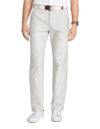 Izod Oxford Straight Leg Pants-GREY-40