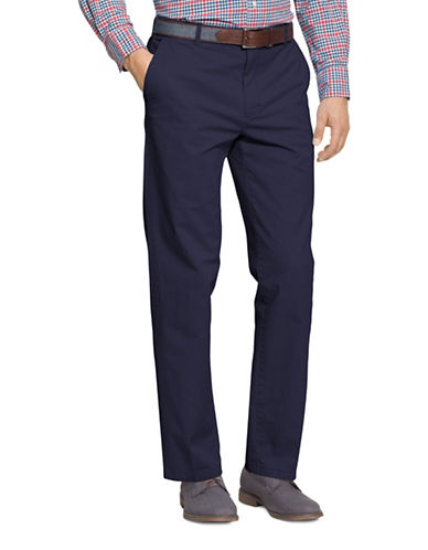 Izod Slim Fit Saltwater Stretch Chinos-NAVY-40