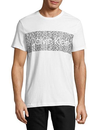Calvin Klein Dash Logo T-Shirt-WHITE-Small 89392060_WHITE_Small