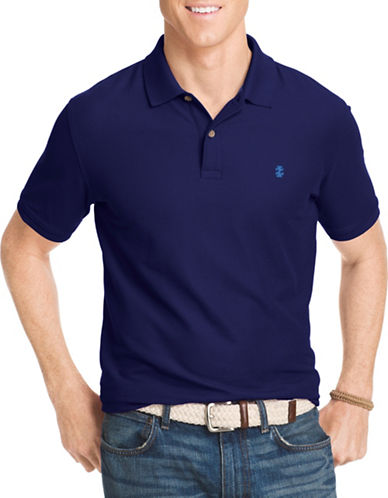 Izod Advantage Polo-BLUE-Large Tall