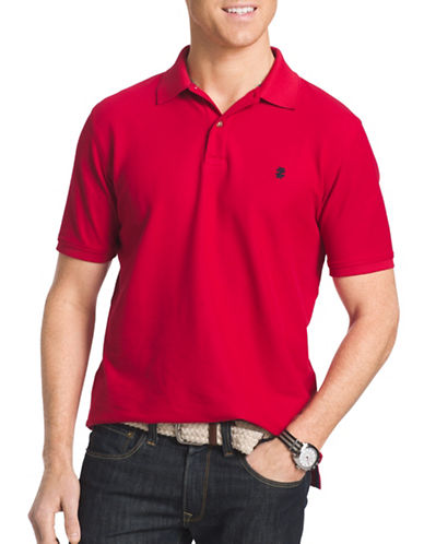 Izod Advantage Polo-RED-4X Big