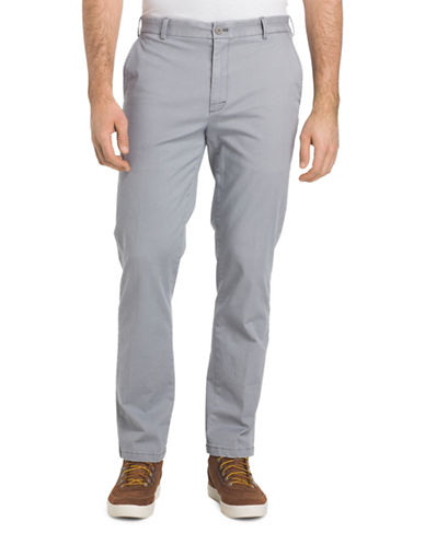 Izod Saltwater Stretch Chino Pants-GREY-42