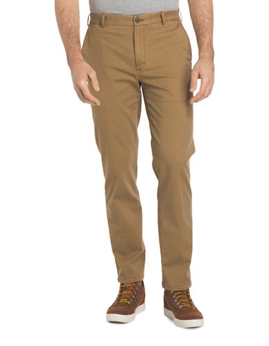 Izod Saltwater Stretch Chino Pants-COPPER-38