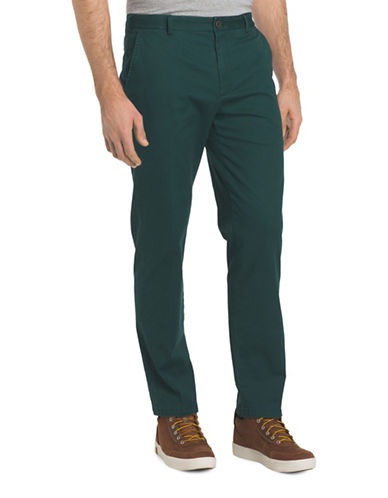 Izod Saltwater Stretch Chino Pants-GREEN-36