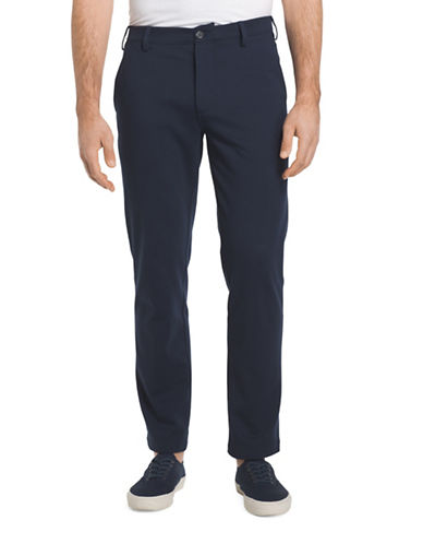Izod Straight Fit Chino Pants-NAVY-34X32