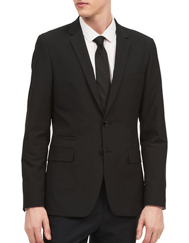 Calvin Klein Infinite Tech Slim-Fit Jacket-BLACK-X-Large