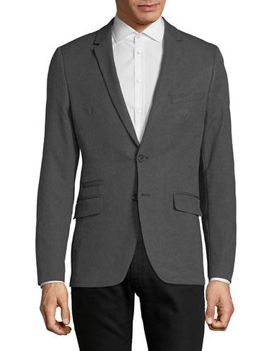 Calvin Klein Slim-Fit Infinite Tech Jacket-GREY-Small
