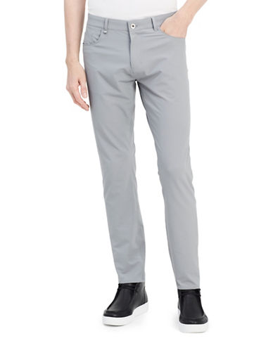 Calvin Klein Infinite Tech Monument Pants-GREY-36X32