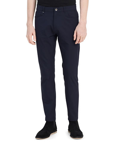 Calvin Klein Infinite Tech Captain Dark Pants-BLUE-34X32