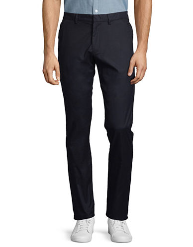 Calvin Klein Classic Tech Pants-NAVY-38X32