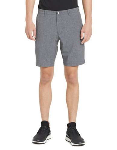 Calvin Klein Classic Buttoned Shorts-GREY-34