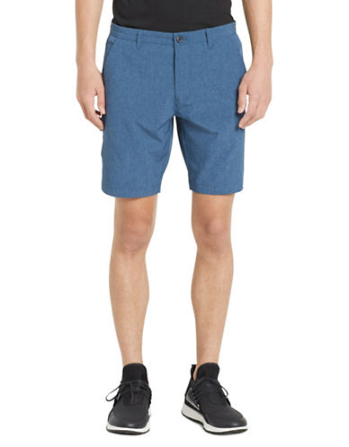 Calvin Klein Classic Buttoned Shorts-NAVY-36