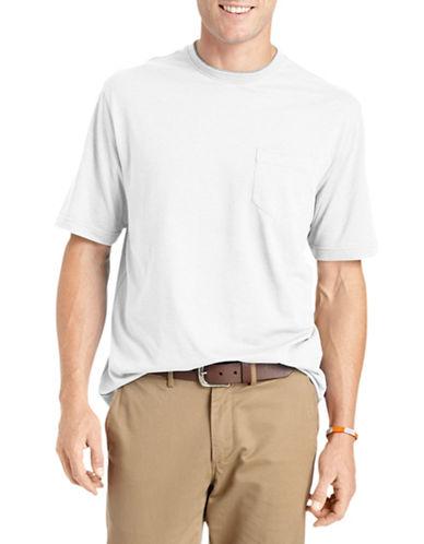 Izod Short-Sleeve Jersey Tee-WHITE-XX-Large 89898733_WHITE_XX-Large