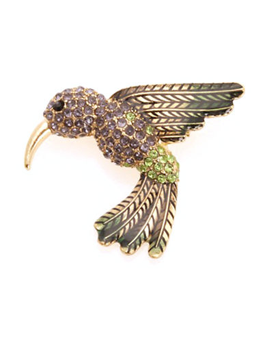 Jones New York Boxed Hummingbird Pin-GOLD-One Size