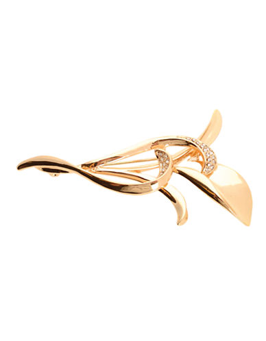 Jones New York Pin Boxed Bird Of Paradise-GOLD/CRYSTAL-One Size