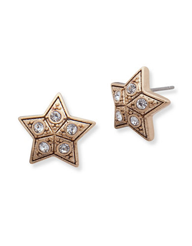 Jenny Packham Star Studded Earrings-GOLD-One Size