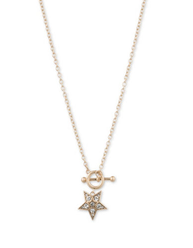 Jenny Packham Star Toggle Necklace-GOLD-One Size