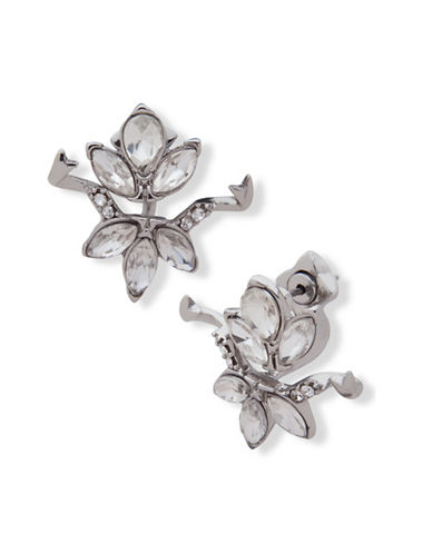 Jenny Packham Marquise Jacket Earrings-SILVER-One Size