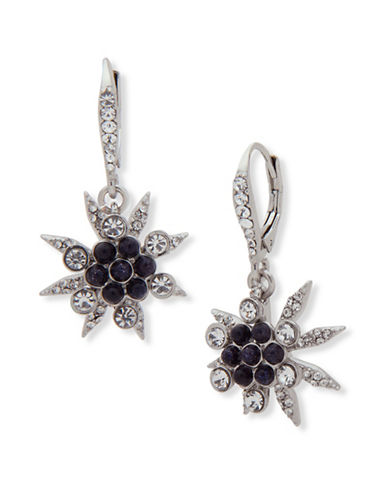 Jenny Packham Starburst Drop Earrings-BLUE-One Size