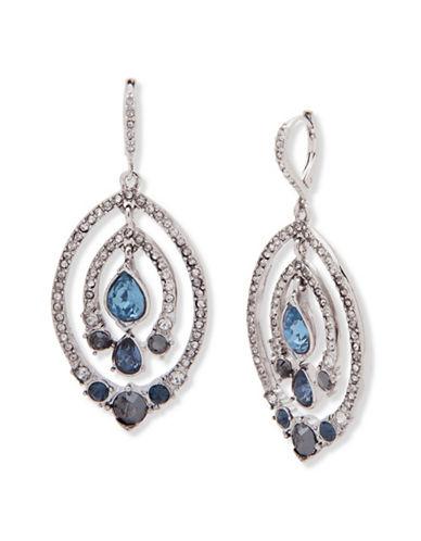 Jenny Packham Crystal Drop Earrings-BLUE-One Size
