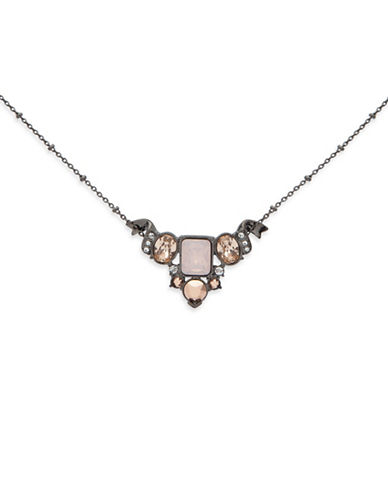 Jenny Packham Multi-Stone Pendant Necklace-MUTLI-One Size