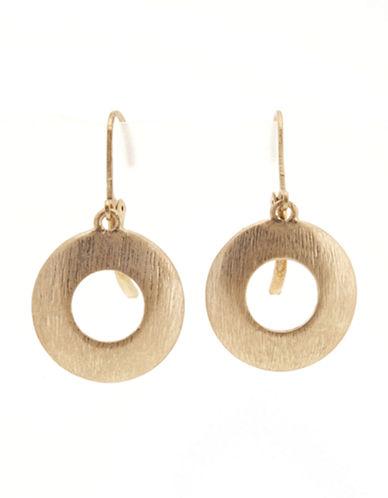 Jones New York Drop Earring-GOLD-One Size