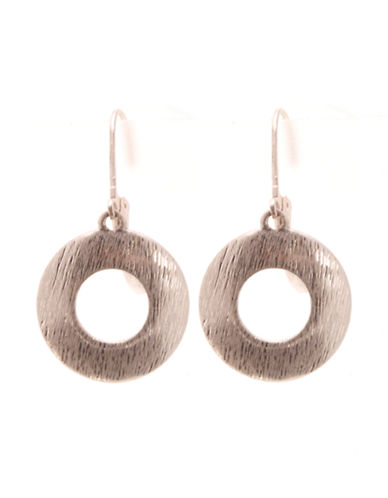 Jones New York Drop Earring-SILVER-One Size