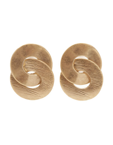 Jones New York Small Eternity Earring-GOLD-One Size