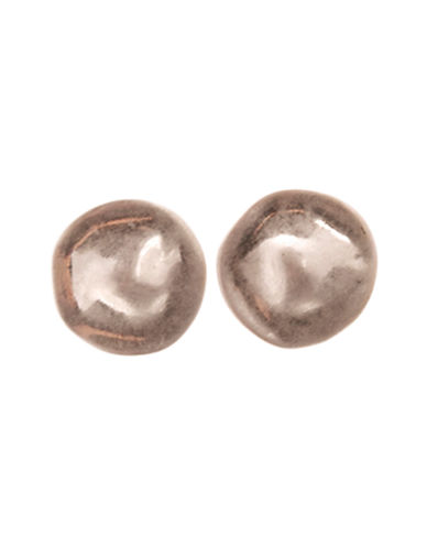 Jones New York Button Post Earring-ROSE GOLD-One Size