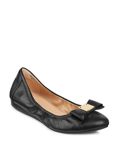 Cole Haan Tali Bow Ballet Flats-BLACK-5