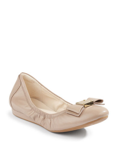 Cole Haan Tali Bow Ballet Flats-MAPLE-6.5
