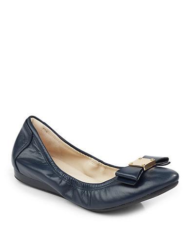 Cole Haan Tali Bow Ballet Flats-BLUE-6.5