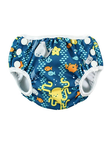 Bumkins Medium Sea Friends Swim Diaper-MULTI-Medium