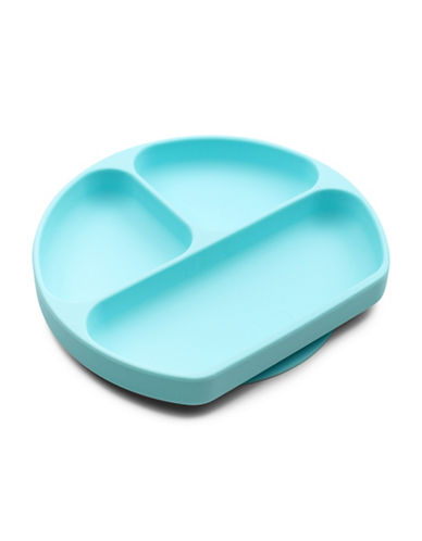 Bumkins Bumkins - Silicone Grip Dish-BLUE-One Size