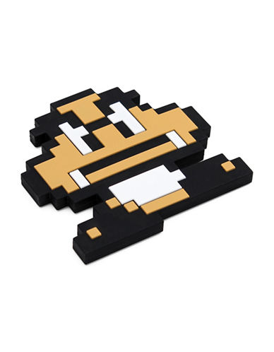 Bumkins Nintendo 8-Bit Goomba Silicone Teethers-BEIGE-One Size